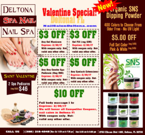 Monthly Promote Nail Salon